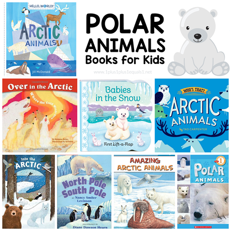 Polar Animals Books for Kids
