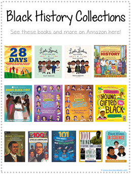 Black History Collection Books for Kids Library Checklist