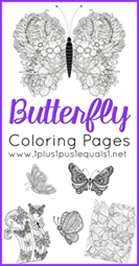 Butterfly Coloring Pages[5]
