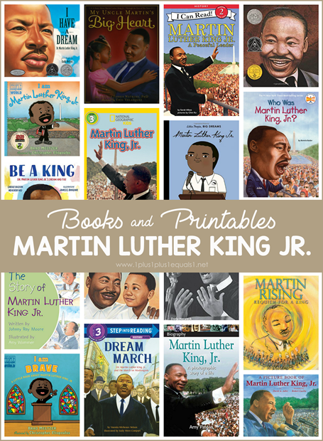Martin Luther King Jr. Books and Printables