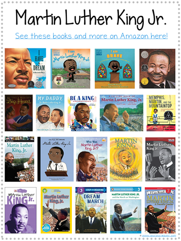 Martin Luther King Jr. Books for Kids Library Checklist