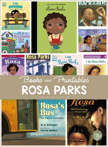 Rosa Parks Books and Printables