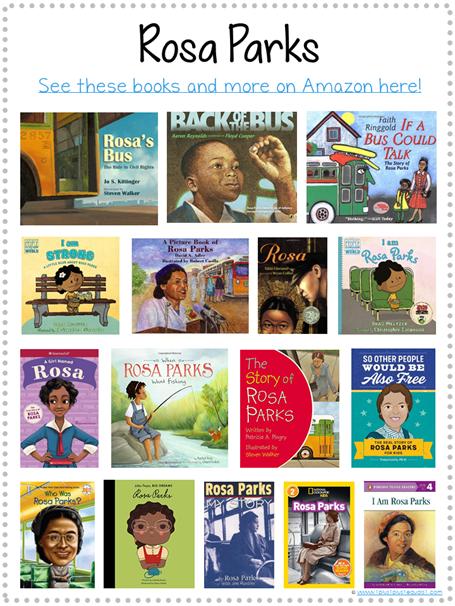 Rosa Parks Books for Kids Library Checklist
