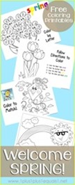 Spring Fun Coloring Printables[2]