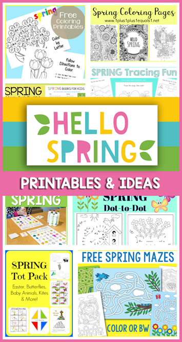 Spring Printables and Ideas