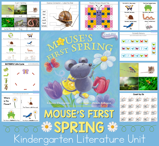 Mouse's First Spring K Lit Unit