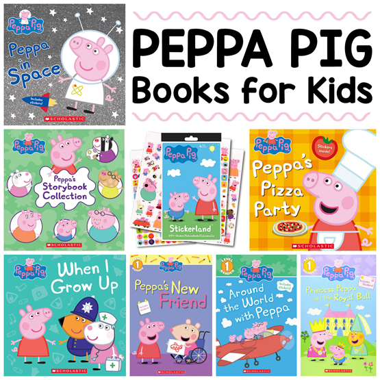Peppa Pig Books for Kids