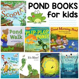 Pond Life Books for Kids