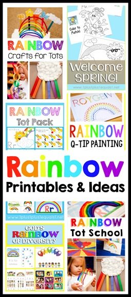 Rainbow Printables and Ideas