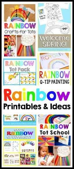 Rainbow Printables and Ideas
