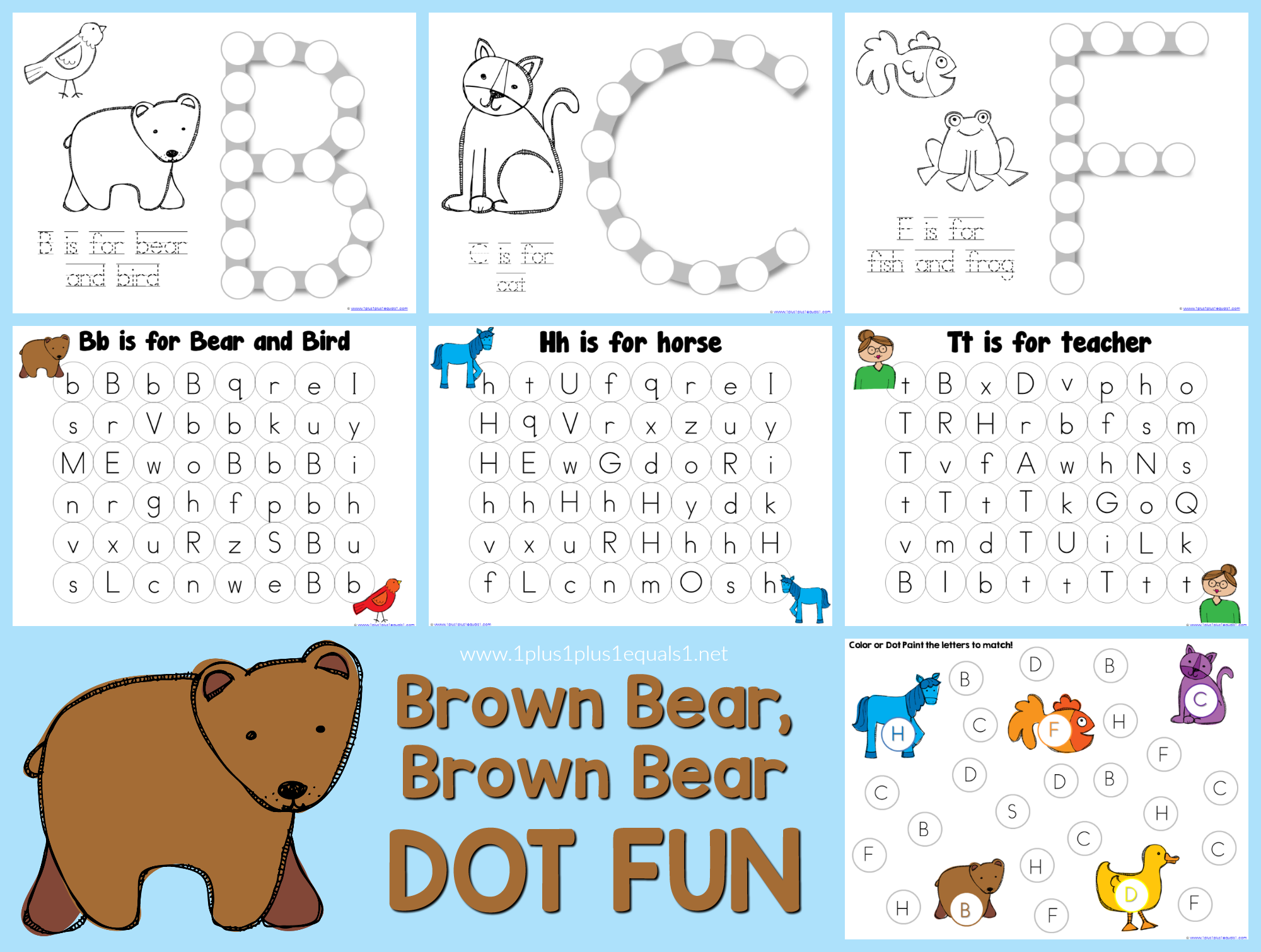 Brown Bear, Brown Bear, What do you See?So may things you can do ... | 1510x2000