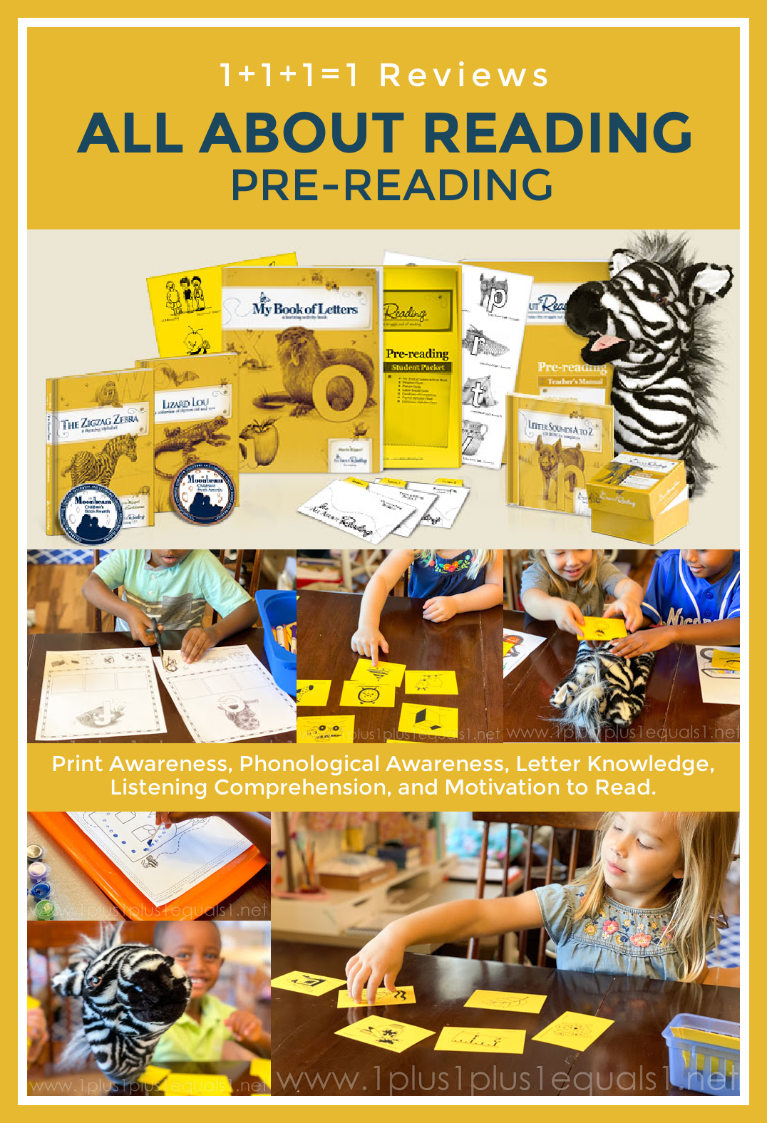All About Reading Level Pre-Reading Review